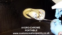 UK made spray on mirror chrome effect paint silver nitrate