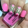 Nailart with colourful polka dots for beginners