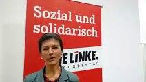 Sahra Wagenknecht: Kündigung des Betriebsrats bei KiK ist ein Skandal!