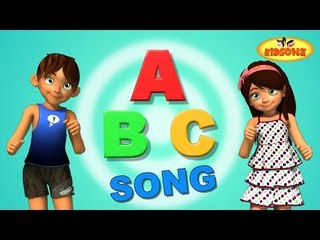 ABCD Song | Alphabet Song For Children | 3D Animation Learning ABC