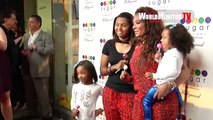 Melanie Brown aka Mel B and family arrive at Sugar Factory Hollywood Grand Opening