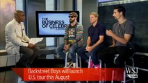 Backstreet Boys Interview | Backstreet Boys Talk To WSJ's Lee Hawkins
