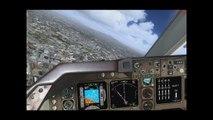 Aterrizaje en México Boeing 747-400 - Boeing 747-400 Landing México - TrackIR5
