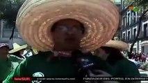 """Monumentales """"alebrijes"""" desfilaron en México"""