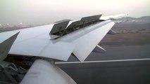Landing Boeing 777-300ER at Dubai intl. Airport Emirates Airlines (A6-EGN)