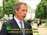 Nigel Farage-Euro Funeral-Pogrzeb Euro