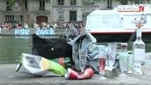 Paris : tensions entre fêtards et riverains du canal Saint-Martin