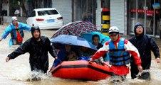 Typhoon causes massive evacuation in China