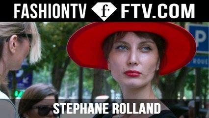 Stephane Rolland Arrivals | Paris Haute Couture Fall/Winter 2015/16 | FashionTV