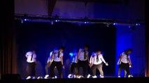 Mickael Jackson/ Major Lazer par l'atelier chorégraphique de la Mjc de Romilly Gala danse ESTISSAC 20-06-15