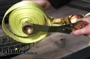 Flat Hook Ratchet Strap with Tie-Down Tamer Review - etrailer.com