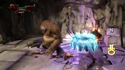 Helios Boss Fight PS4 de God of War 3 Remastered