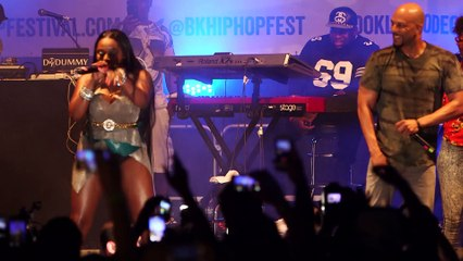 Common Brings Out Foxy Brown For Surprise Brooklyn Hip-Hop Festival Performance