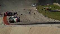 Insane Ferrari 458 crash during race