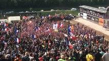 Marseillaise podium MXGP 2015 Villars sous ecot