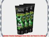 Garnier Fructis Stylinggel Purer Halt 3er Pack (3 x 200 ml)