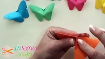 Possible Projects ► DIY Crafts Paper Butterflies very Easy Innova Crafts   Best Diy Craft Project Tr