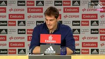 Les larmes d'Iker Casillas durant ses adieux au Real Madrid