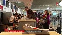Aéroport de Roissy : 4 000 bagages bloqués à cause d'une panne