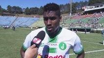 Jonatas Obina reclama de lance polêmico durante a partida