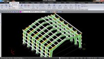 How to generate fabrications drawings for a PEB structure in 3 minutes ?.wmv