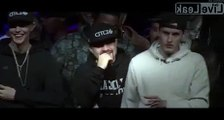 White Rapper Destroys Black Rapper With Epic Fat Shaming! LOL