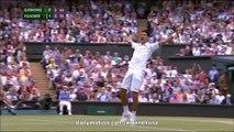 Djokovic Championship Winner Point - Djokovic v. Federer Final Wimbledon 2015