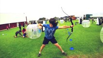 Great Archery Battle New Sport looks like paintball battle!