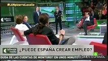 Pablo Iglesias se queda sin palabras ante el neoliberal Daniel Lacalle cuando le cita a Venezuela