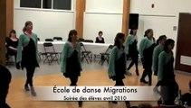 École de danse Migrations Danse celtique 2010