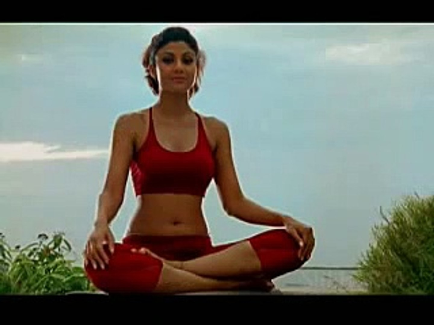 Yoga for releasing stress and anxiety - Anulom Vilom Pranayama (English) -  Shilpa Yoga
