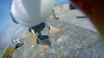 Une mouette voler la GoPro d'un touriste