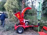"""Aust chip 4"""" chipper in action"""