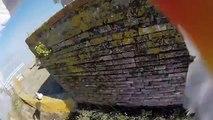 Mowe klaut meine GoPro und filmt die Aussicht von der Insel Cies...