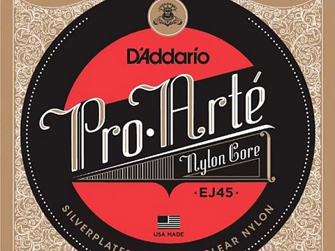 Details D'Addario EJ45 Pro-Arte Nylon Classical Guitar Strings, Norm Deal