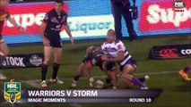 Rugby :  L'incroyable passe en backflip de Nathan Friend (Warriors vs Storm)