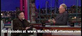 Robin Williams in Late Show with David Letterman March 3, 2011