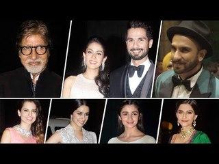Shahid Kapoor & Mira Rajput's RECEPTION in Mumbai