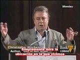 Ateísmo, Christopher Hitchens es confrontado por la verdad histórica, debateD'Souza vs Hitchens
