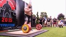 Eddie Hall deadlift new world record 463 kg _ The world deadlift championship 2015