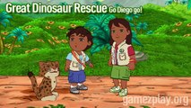 Nickelodeon  Go, Diego, Go! Great Dinosaur Rescue! video games out on Nintendo DS and Nintendo Wii