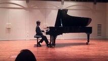 Richard plays Fantaisie Impromptu by F. Chopin