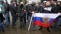 Odessa Demo March 3 - Russia side