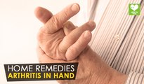 Arthritis In Hand - Home Remedies | Health Tone Tips