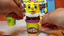 Sponge Bob Square Pants (Play Doh) si Masina RC Sponge Bob