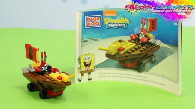 Mr. Krabs Racer Building Kit / Podwodny Pojazd Kraba - SpongeBob SquarePants - Mega Bloks - CNF31 - Recenzja