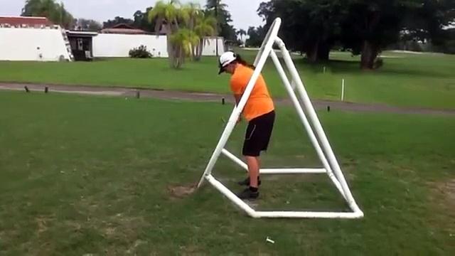 Golf Back Swing en español