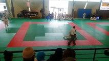 Championnat départemental sélection final 5eme combat Nael REFOUFI en