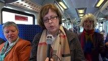 """""""Staatsbesuch"""" - mit der S-Bahn von Speyer nach Eberbach"""