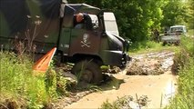 sortie 4x4 urvillers le camion de l'armée passe dans le bourbier